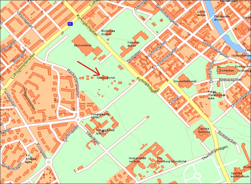 Tisdagsvisningar Uppsala Amatorastronomer