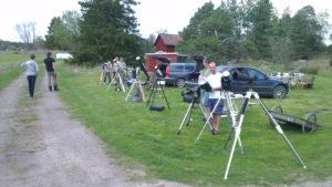 Teleskopparad.